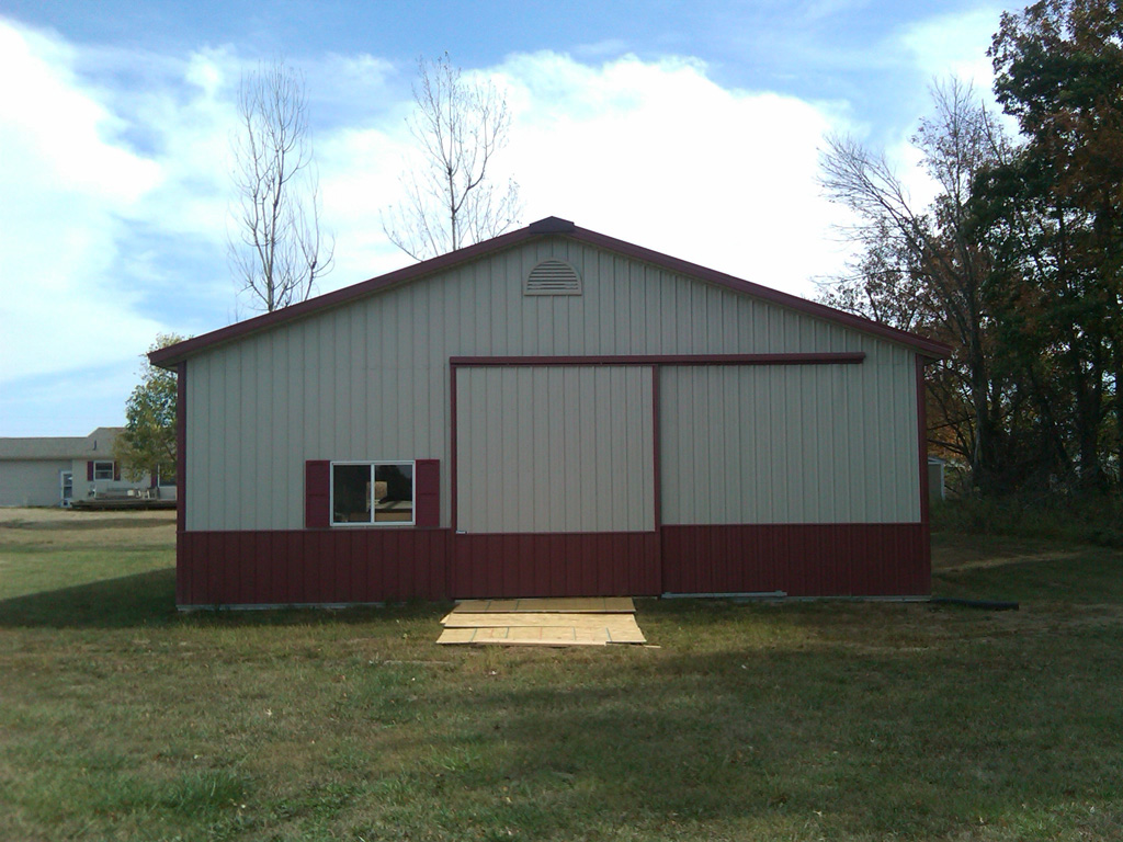Pole barns ohio joy studio design gallery best design for Pole garage pictures