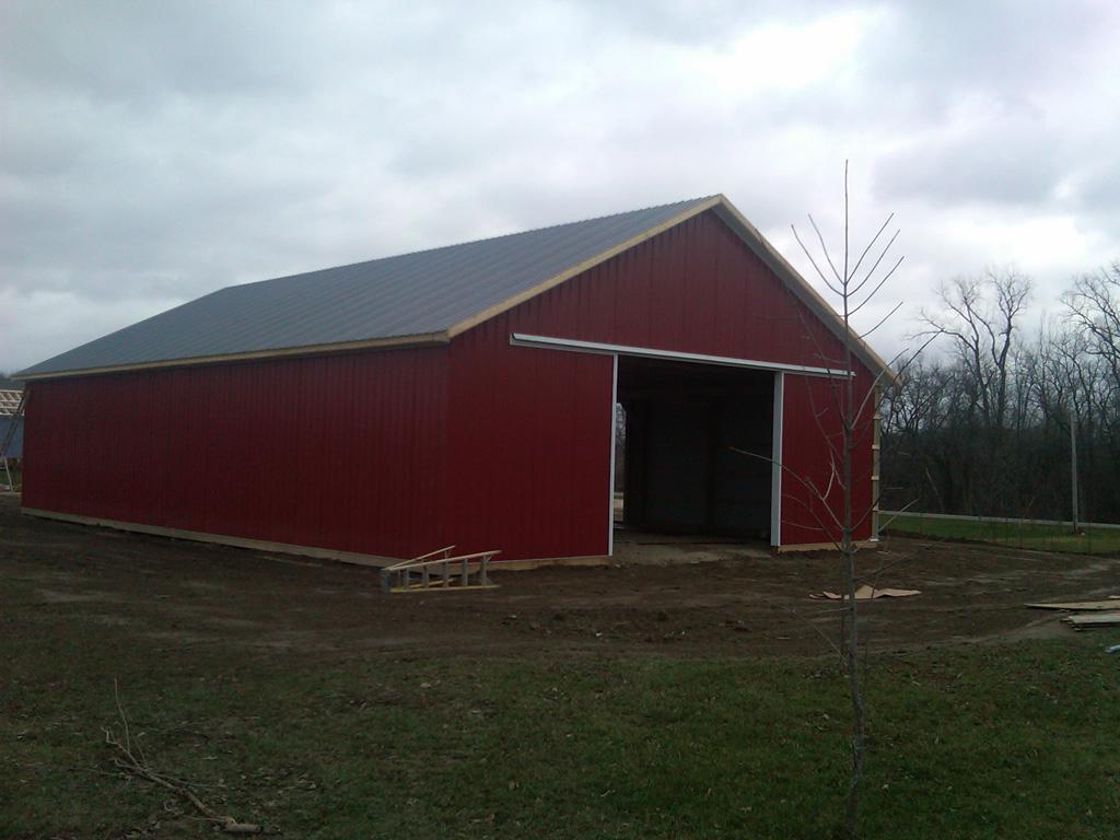 Pole houses designs joy studio design gallery best design for Pole barn home gallery