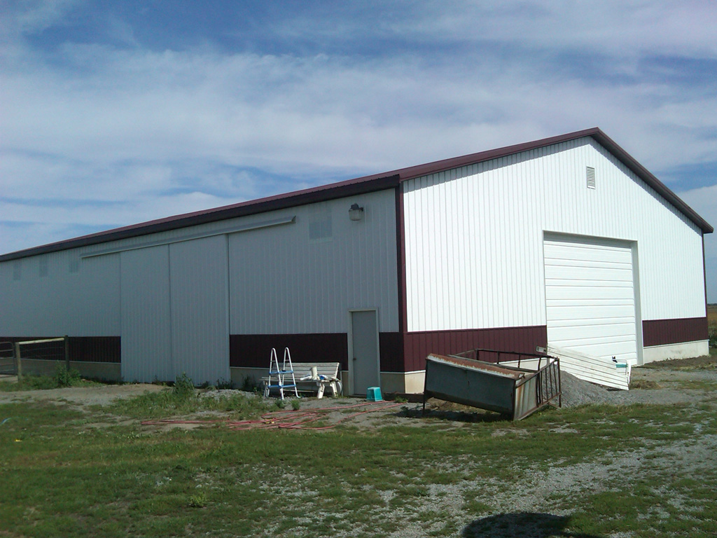 Pole Barns Lima Ohio Stahl Mowery Construction